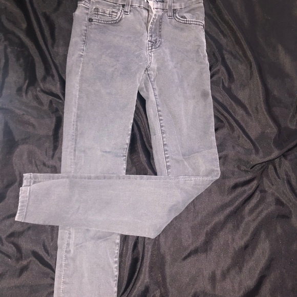7 For All Mankind Denim - 7FOR ALL MANKIND GENTLY WORN GREY JEANS